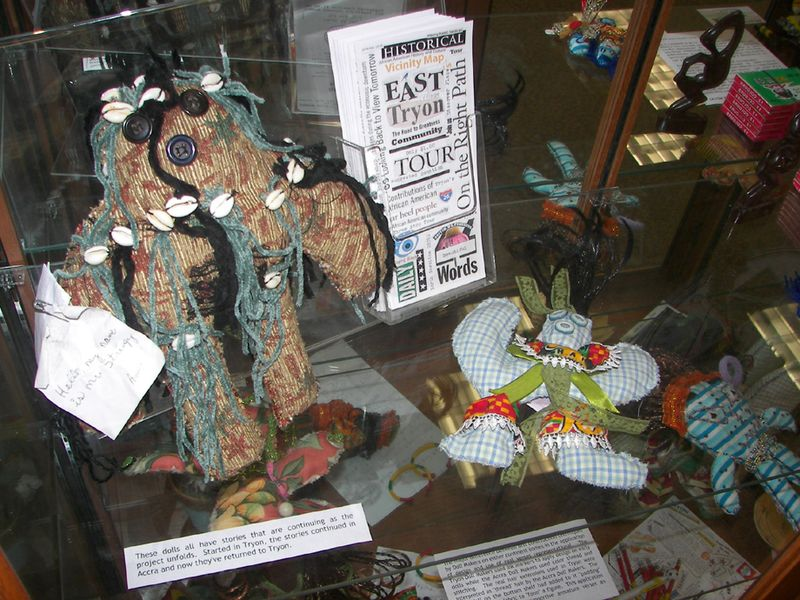 Doll Display Polk Public 3